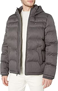 Tommy Hilfiger Men`s Classic Hooded Puffer Jacket (Standard and Big & Tall)