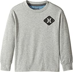Hurley Kids - Drop Shoulder Knit Top (Little Kids)