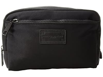 Rebecca Minkoff Nylon Cosmetic Pouch (Black) Wallet Handbags