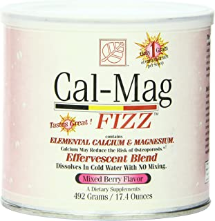 Baywood Cal Mag Fizz Powder, Mixed Berry, 17.4 Ounce
