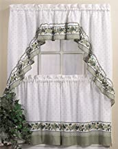 Best country style kitchen curtains set Reviews
