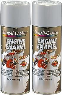 Dupli-Color DE1615 Aluminum Engine Enamel with Ceramic 12 oz. Aerosol (2 PACK)
