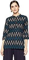 Amazon Brand - Myx Women's Cotton Regular Short Kurti