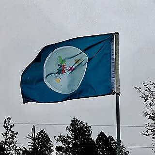 Randiego99 Flat Earth Map Flag