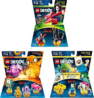 Adventure Time Level Pack + Team Pack + Fun Pack - Lego Dimensions