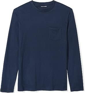 Men's Slim-Fit Long-Sleeve Pocket T-Shirt