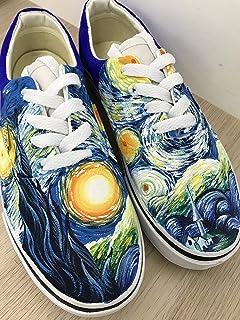 61579efa488b6d The Starry Night Vans Authentic Van Gogh Starry Night Vans Shoes Custom  Shoes Vans Authentic Custom
