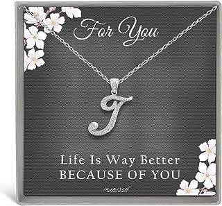 Best cursive t necklace Reviews
