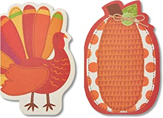 American Greetings Thanksgiving Cards, Turkey (6-Count)