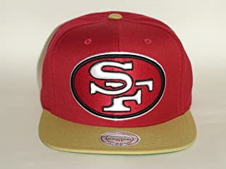 Mitchell & Ness NFL San Francisco 49ers 2Tone Red/Gold Snapback -A1772