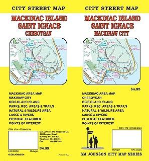 Mackinac Island / St Ignace, Michigan Street Map