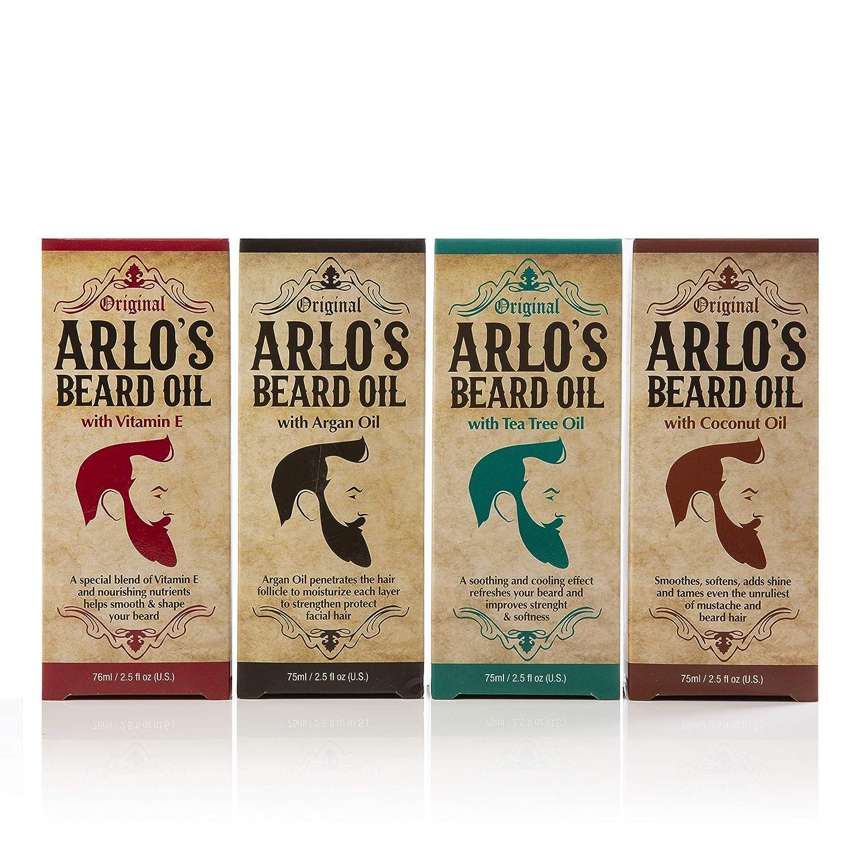 Arlos Beard Oil Includes Overseas parallel import regular item - Argan E Tea 5 ☆ popular Vitamin Tree and Coconut