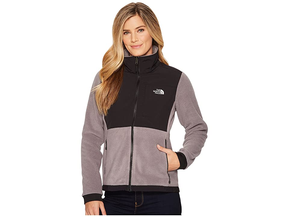 The North Face Denali 2 Jacket (TNF Medium Grey Heather/TNF Black) Women
