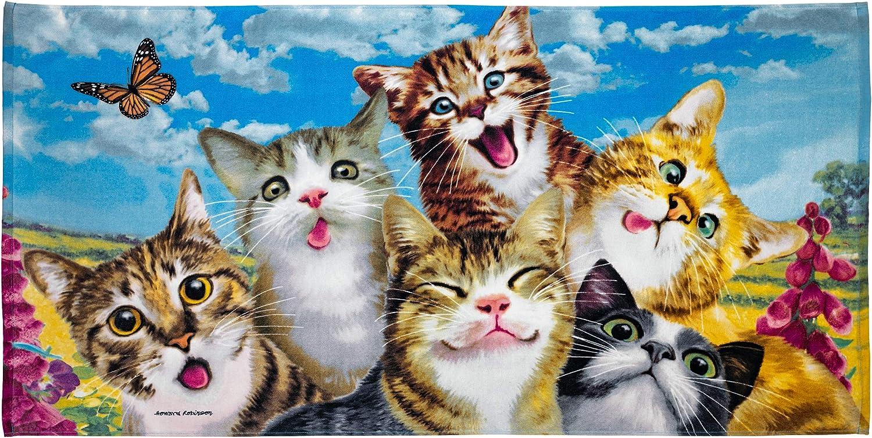Selfie Super Soft Plush Dedication Cotton Cats Beach Bath Pool Ranking TOP12 Towel
