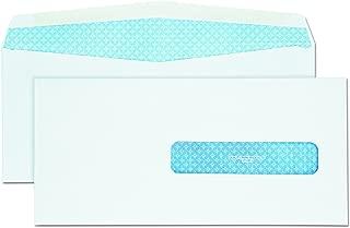 Quality Park QUA21432 21432 Health Form Gummed Security Envelope, #10 1/2, 4 1/2 x 9 1/2, White (Box of 500)