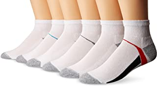 Hanes Big Boys' 2 packs of 6 pairs per pack Ankle Socks
