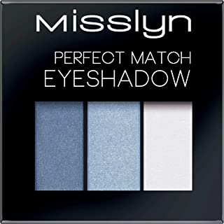 Misslyn Perfect Match Eyeshadow No.74 Blue and White