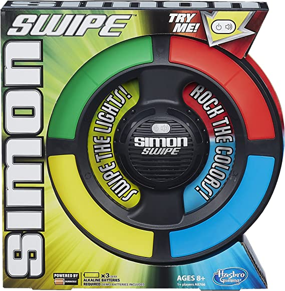 Hasbro A8766 Simon Swipe Game Childrens Electronics for sale online