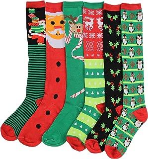 knee high christmas socks