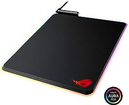 ASUS ROG Balteus RGB Gaming Mouse Pad - USB Port | Aura Sync RGB Lighting | Hard Micro-Textured Gaming-Optimized Surface & Nonslip Rubber Base
