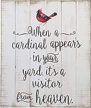 Ganz When A Cardinal...Plaque