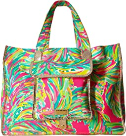 Lilly Pulitzer - Sunbathers Foldable Beach Tote