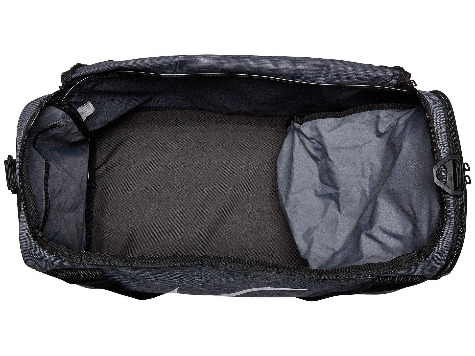 Grey Flint black Duffel Medium white Bag Nike Brasilia xv7X6X