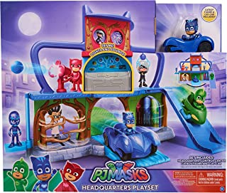 pj mask deluxe headquarters