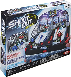 Ideal Motorized Shoot-Out Hockey Kids Tabletop Game (Renewed)
