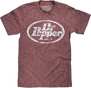 Tee Luv Dr Pepper T-Shirt - Big Tall Dr. Pepper Logo Shirt