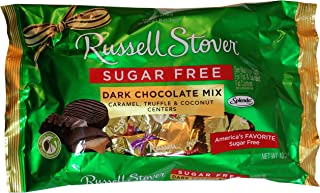 Russell Stover Sugar Free Dark Chocolate Assorted Candies, 10 oz. bag
