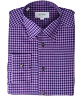 Eton - Slim Fit Plaid Shirt