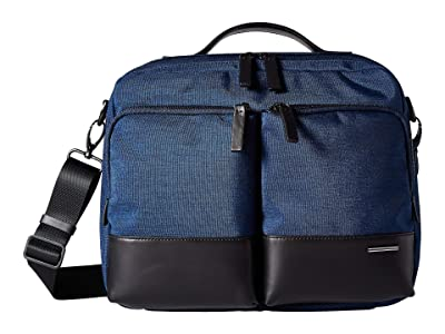 Zero Halliburton Folio Soft Series Shoulder Bag (Blue) Bags
