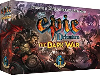 Gamelyn Games Tiny Epic Defenders The Dark War Expansion Multiplayer Strategy Board Game for Family and Friends