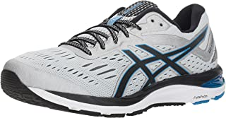 (7.5 D US, Mid Grey / Black) - Asics Men's Performance GEL-Cumulus 20 Running Shoe - 1011A008.400