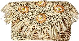 BSB1737 - Crochet Paper Daisy Clutch