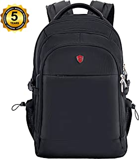 Swiss Alpen - Combin Backpack - Water Resistant Durable 1680D Large Laptop Backpack for Travel, School & Business - Fits 15.6