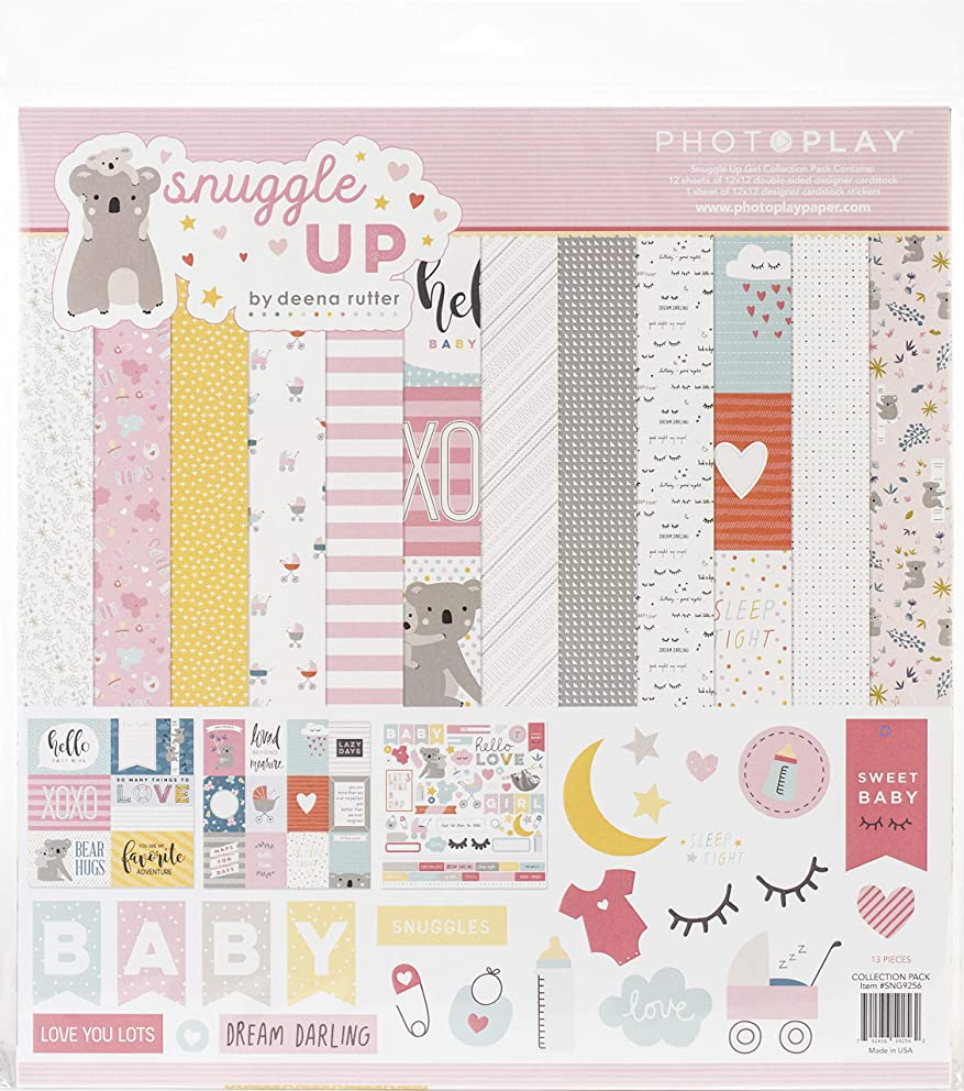 Photoplay Paper SNG9256 PhotoPlay Collection Pack 12