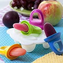 Nuby Garden Fresh Fruitsicle Frozen Pop Tray, Multicolored