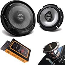 "$44 » Pair of Kenwood KFC-1666S 600W Max (60W RMS) 6.5"" KFC 2-Way Coaxial Car Speakers (2 Speakers) with Gravity Magnet Phone Ho..."
