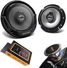 "$44 » Pair of Kenwood KFC-1666S 600W Max (60W RMS) 6.5"" KFC 2-Way Coaxial Car Speakers (2 Speakers) with Gravity Magnet Phone Ho..."