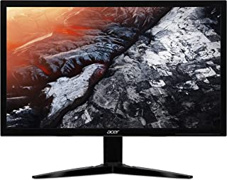 Acer KG241Qbmiix 24 Inch Full HD Gaming Monitor, Black (TN Panel, FreeSync, 1 ms, HDMI, VGA)