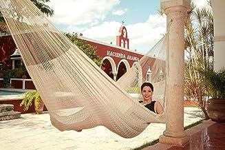 Hamaca Tradicional Maya color Crudo Grande (Envío Gratis)