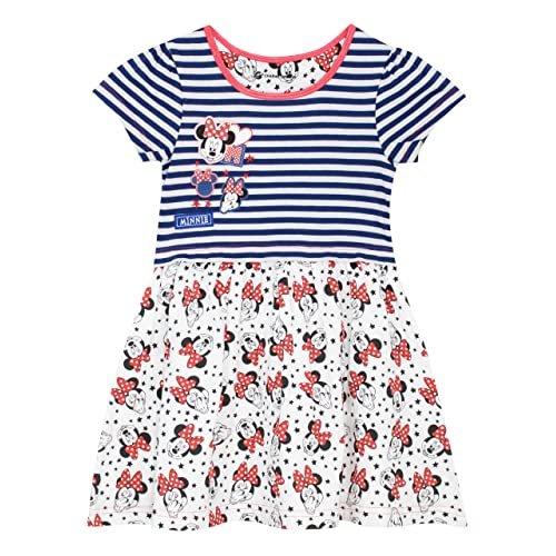 33c0b2c2 Disney Girls Minnie Mouse Dress Ages 18 Months to 10 Years