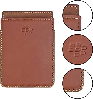 Blackberry Passport Silver Edition Leather Case with Build-in Holster (Matte Brown)