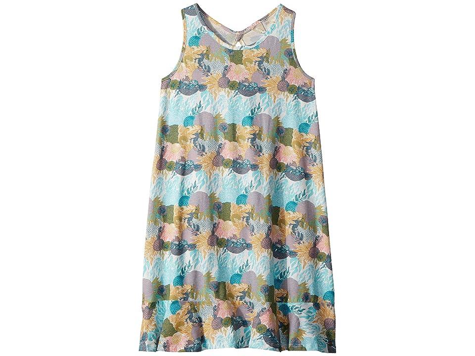 Roxy Kids Mission Bell Dress (Big Kids) (Marshmallow High Tide Flower) Girl