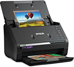 $593 » Epson FastFoto FF-680W Wireless High-Speed Photo and Document Scanning System, Black