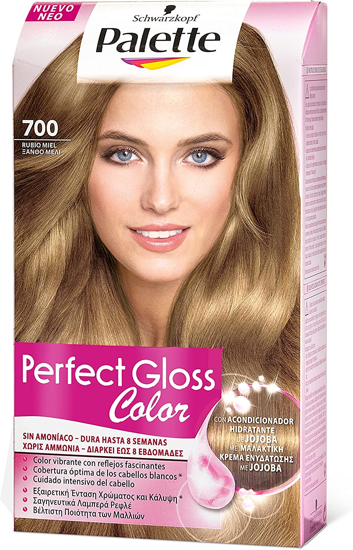 Schwarzkopf Palette Perfect Gloss Coloración Capilar Rubio Caramelo - 173 gr