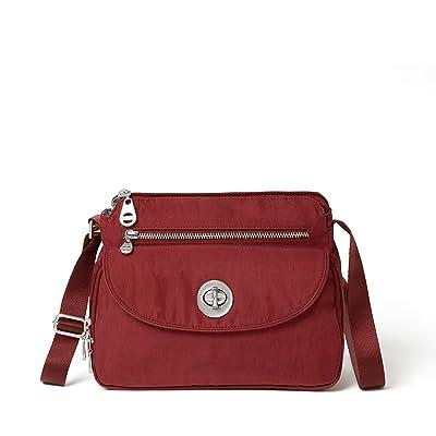 Baggallini International Calais Crossbody Bag (Russet Red) Handbags
