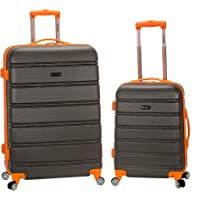 Deals on Rockland Melbourne Hardside Expandable Spinner Wheel Luggage 2-Pcs